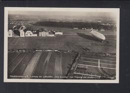 Dt. Reich AK Zeppelin Landung Friedrichshafen 1929 - Luchtschepen