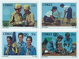 Ref. 38724 * NEW *  - CISKEI . 1985. 75th ANNIVERSARY OF THE SCOUTS. 75 ANIVERSARIO DEL ESCULTISMO - Ciskei