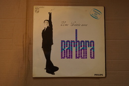 UNE SOIREE AVEC BARBARA DOUBLE LP 1969 GEORGES BRASSENS . GEORGES MOUSTAKI VALEUR + - Vinyl Records