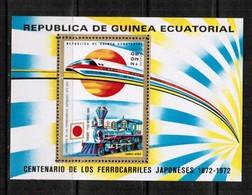 EQUATORIAL GUINEA  Scott # UNLISTED 1972 RAILWAY ** VF MINT NH SOUVENIR SHEET  LG-850 - Equatorial Guinea