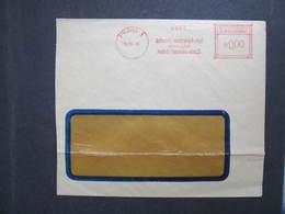Brief Praha 1 Rafinerie Mineralnich 1948 Frankotype Postfreistempel // L0594 - Briefe U. Dokumente