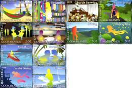 Ref. 324809 * NEW *  - COOK Islands . 2014. ACTIVIDADES DE OCIO - Cook Islands