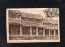 """81329     Monaco,  Ruines D""""Angkor,  Angkor-Vath,  Facade Exterieure Des Galeries Nord,  VG  1925 - Cambodia"""