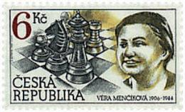 Ref. 30617 * NEW *  - CZECH REPUBLIC . 1996. 90th ANNIVERSARY OF VERA MENCHIK. 90 ANIVERSARIO DE VERA MENCHIK - República Checa
