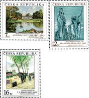 Ref. 156967 * NEW *  - CZECH REPUBLIC . 1997. WORKS OF ART ON STAMPS. OBRAS DE ARTE EN LOS SELLOS - República Checa