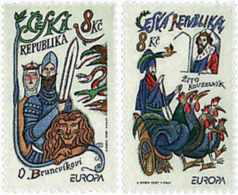 Ref. 63053 * NEW *  - CZECH REPUBLIC . 1997. EUROPA CEPT. TALES AND LEGENDS. EUROPA CEPT. CUENTOS Y LEYENDAS - Czech Republic