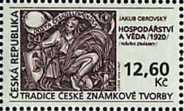 Ref. 41253 * NEW *  - CZECH REPUBLIC . 1998. LA TRADICION EN LA FABRICACION DE LOS SELLOS CHECOS - Czech Republic