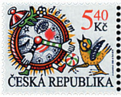Ref. 52879 * NEW *  - CZECH REPUBLIC . 2000. ILUSTRACION PARA CUENTOS INFANTILES DE A. KHUNOVA - República Checa