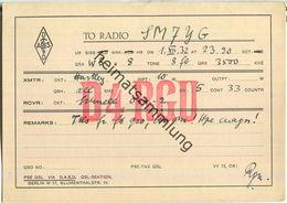 QSL - QTH - D4RGU - 1932 - Amateurfunk