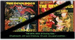 """THE DEVIL DOGS"" 30 SIZZLING SLABS - Hard Rock & Metal"