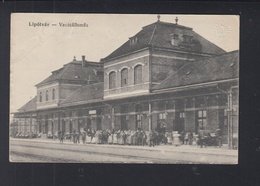 Slovakia PPC Leopoldov Lipotvar Railroad Station - Slovaquie
