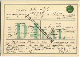 QSL - QTH - D4LAL - 1932 - Amateurfunk