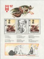 Ref. 115252 * NEW *  - CZECHOSLOVAKIA . 1987. 11th BIENNIAL OF CHILDREN BOOKS IN PRAGUE. 11 BIENAL DE LIBROS INFANTILES - Czechoslovakia
