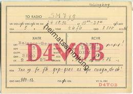 QSL - QTH - D4VOB - 1932 - Amateurfunk