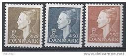 Danemark 1998 N°1179/1181  Neufs ** Margrethe - Danemark