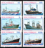 MOZAMBIQUE  1981  SHIPS SET  MNH - Mozambique