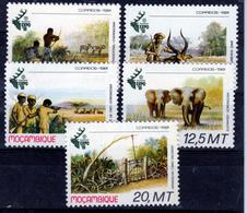 MOZAMBIQUE  1981  WILD LIFE SET  MNH   ELEPHANT - Mozambique
