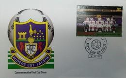 O) 1987 ST. VINCENT, SOCCER TEAMS, TOTTENHAM HOTSPUR F.C, SPORT-FOOTBALL, FDC XF - St.Vincent & Grenadines