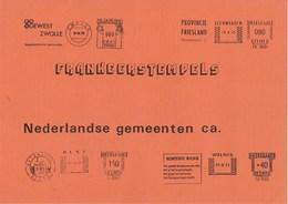 Nederland - D, Veenstra - Frankeerstempels Nederlandse Gemeenten C.a. - 1978/1979 - 2 Delen - Nieuw Exemplaar - Netherlands