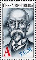 Czech Republic - 2018 - Tomáš Garrigue Masaryk, First Czechoslovak President - Mint Stamp - Czech Republic