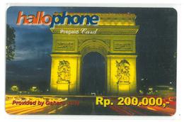 Hallophone - Pepaid Card - Indonesia