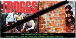 """THE TROGS"" -3 CDS - ARCHELOGY -1966 - 76- - Hard Rock & Metal"