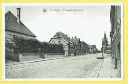* Beselare (Zonnebeke - Ieper - Ypres) * (Nels, Uitg Van Kersschaever Soete) 1ste Gedeelte Wervik Straat, Tramway, Kerk - Zonnebeke