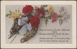 A Happy Birthday, 1920 - Postcard - Birthday