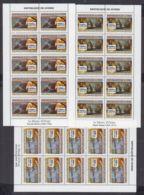 O176. 10x Guinea - MNH - Art - Paintings - Museum - Full Sheet - Art