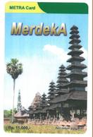 METRA CARD - TELKOM GROUP - Temple In Bali - Indonesia