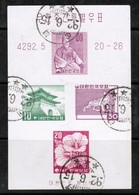 KOREA---South  Scott # 291B VF USED SOUVENIR SHEET  LG-858 - Korea, South