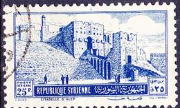 Syrien Syria - Aleppo: Zitadelle (MiNr: 615) 1952 - Gest Used Obl - Syria