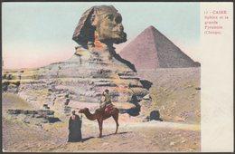 Sphinx Et La Grande Pyramide (Cheops), Caire, C.1905 - CPA - Gizeh