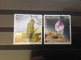 Zwitserland / Suisse - Complete Set Kristallografie 2014 - Zwitserland