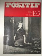 French France Magazine POSITIF # 165 - 1.1975 Marilyn Monroe - Cinema