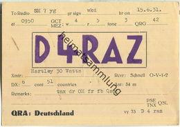 QSL - QTH - D4RAZ - 1931 - Amateurfunk