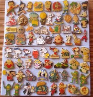 Joli Lot De 68 Pin's BD Variés, Voir Photos, Pins Pin. - Badges