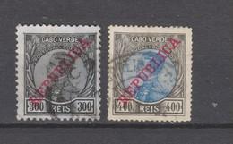 Yvert 110 / 111 Oblitéré - Cap Vert