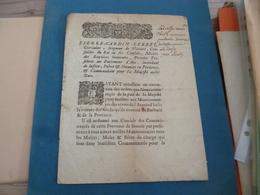 Militaria Militaire Pierre Cardin Lebret Aix 05/01/1693 Loi Armée Italie + Notes Manuscrites Comptes Rare!!! - Documents