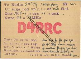 QSL - QTH - D4RRC - 1931 - Amateurfunk