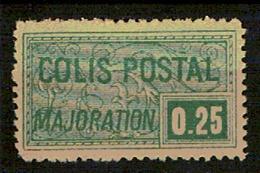 N° 78* Colis Postal 0,25c Vert - Paketmarken