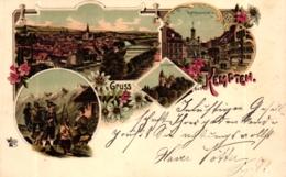 Kempten, Farb-Litho, Um 1900 - Kempten
