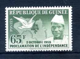 1959 GUINEA N.6 MNH ** - Guinea (1958-...)