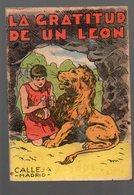 Micro-livre  LA GRATITUD DE UN LEON  (texte En Espagnol)(PPP15992) - Children's