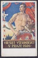 Czech Republic 1926 Prague (Praha) - Vsesokolsky Slet, Postcard - Tchéquie