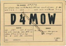QSL - QTH - D4MOW - 1930 - Amateurfunk