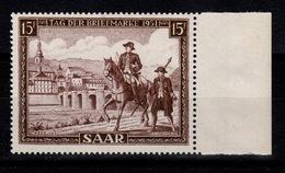Sarre YV 291 N** Cote 11 Euros - 1947-56 Occupation Alliée