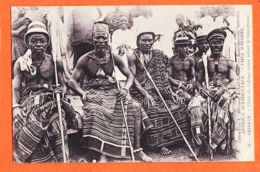 Af133 ABIDJAN Chefs De Village Venus Saluer Gouverneur 1918 Collection METEYER Grand-Bassam 32 - Ivory Coast