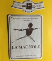 9050 - Association Vaudoise Des Gymnastes à L'artistique La Magnole 1980 Lutry Suisse - Etiquettes