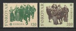 MiNr. 63 - 64 Dänemark Färöer / 1981, 1. Juni. Europa: Folklore. - Féroé (Iles)
